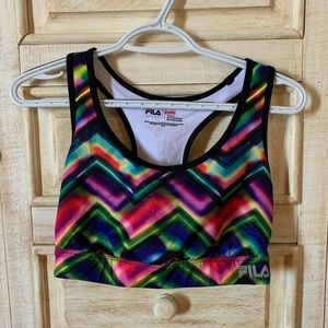 NWOT Fila sports bra size large